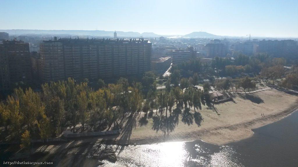Durius Aquae; playa de Valladolid
