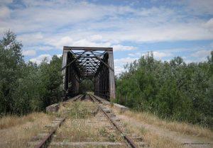 Durius Aquae: Puente sobre el Duero de la vía desmantelada de Valladolid a Ariza