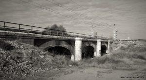 Medina del Campo, puente del ferrocarril