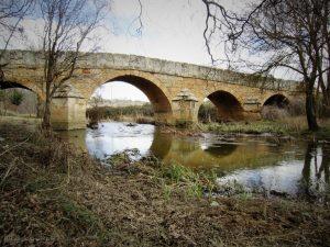 Puente sobre el río Guareña