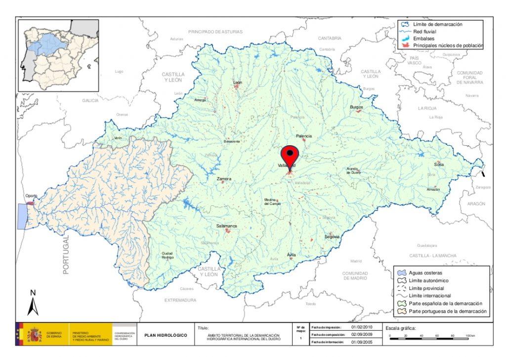 Durius Aquae, cuenca del Duero