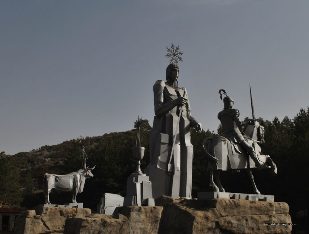 Durius Aquae. Monumento al nacimiento del Tajo, cerca de sus fuentes