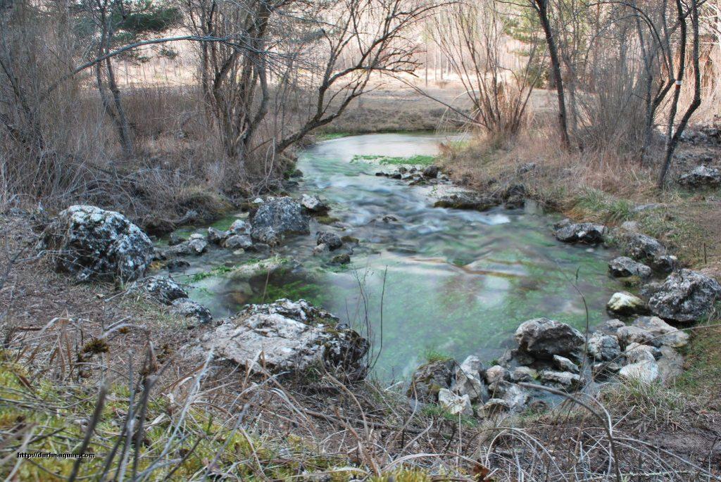 Durius Aquae. Uno de los ojos del Cabriel, el río surge de la tierra