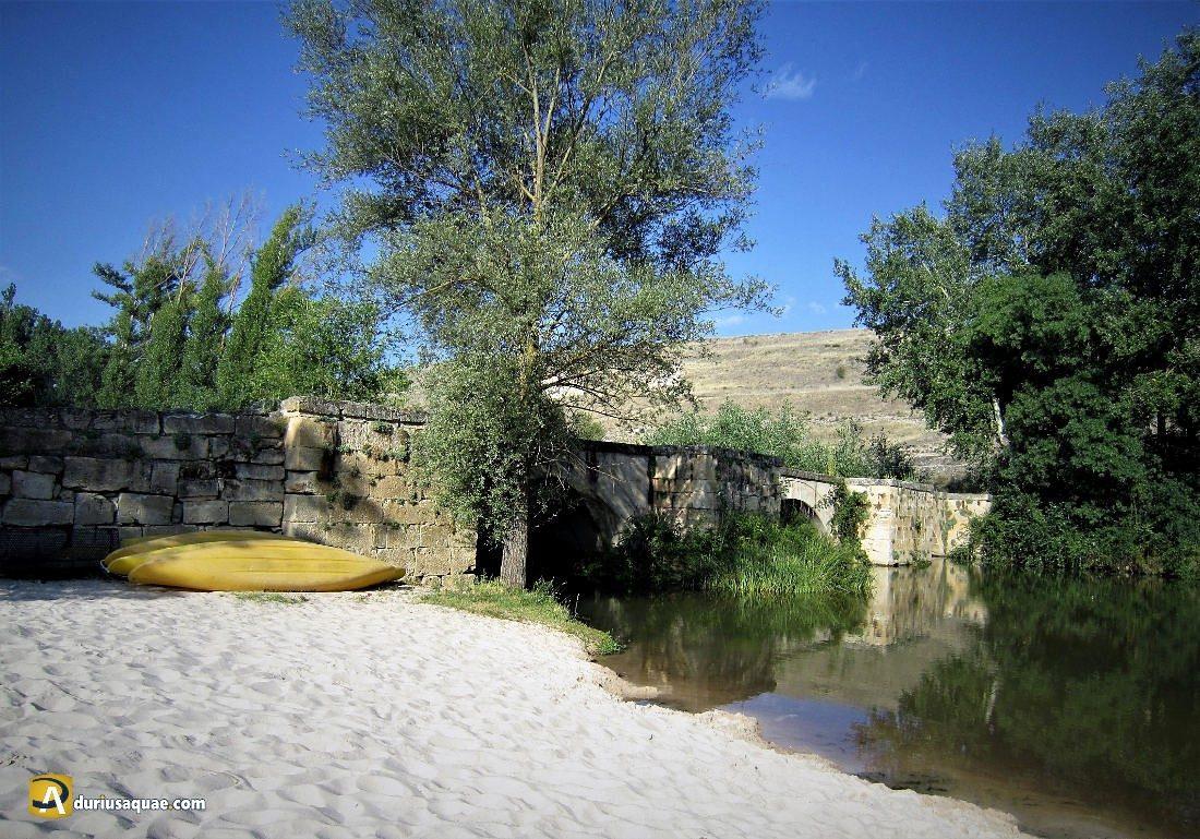 Durius Aquae: playa fluvial y puente de San Miguel de Bernui