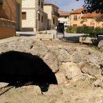 Antigua fuente en Castrillo de Duero, llamada romana