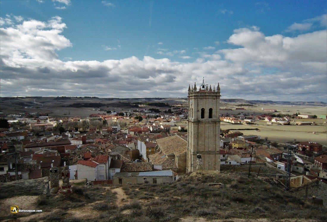 Durius Aquae: Iglesia de San Millán desde el cerro del Castillo