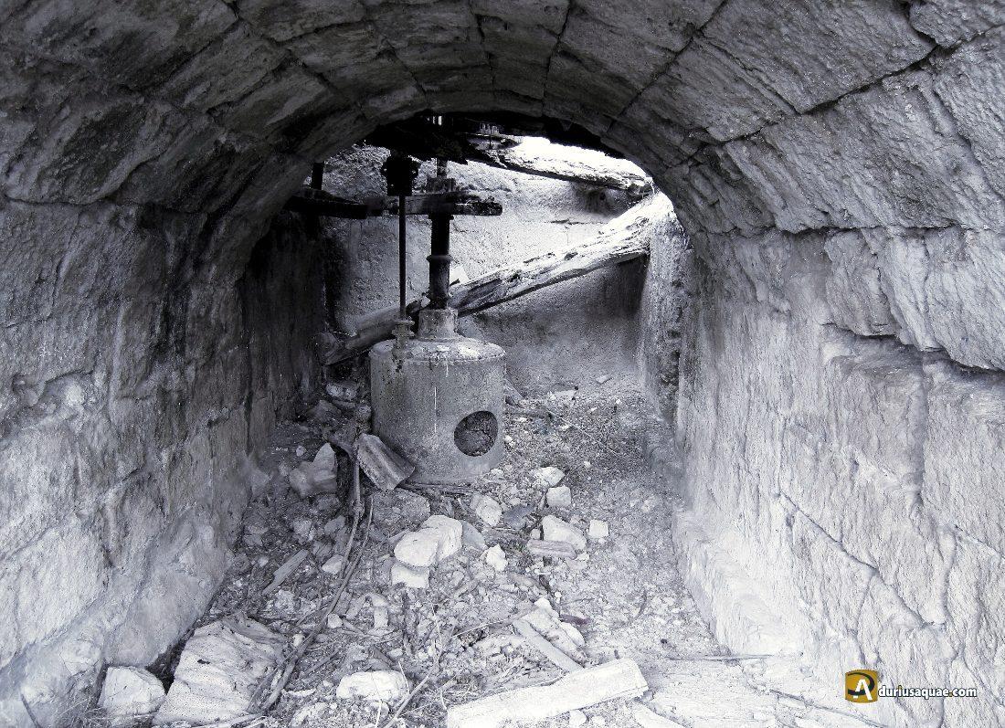 Durius Aquae, viejo rodezno en el Molino de la Vega