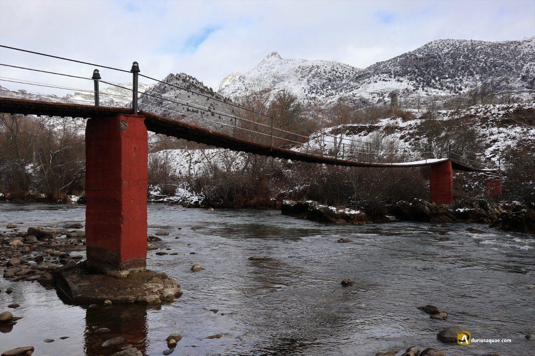 Durius Aquae: Puente colgante de Alejico