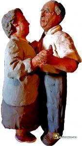 Durius Aquae: Amable escultura de Félix Yañez