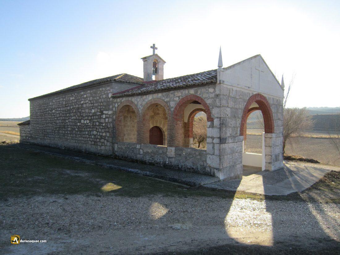 Durius Aquae: ermita de San Vicente, detrás el arroyo