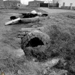Caño-basurero en Valdefuentes (Valderas)