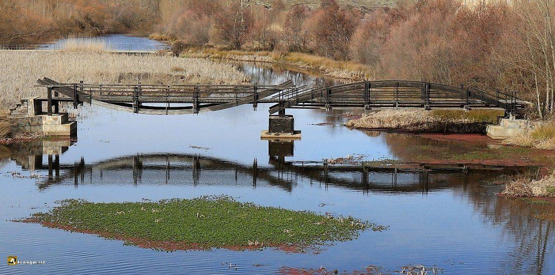 Puente de acceso a la isla Garcilaso