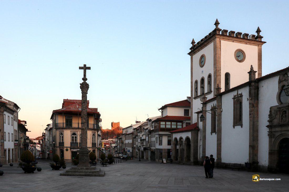 Durius Aquae: Bragança: plaza de la Se