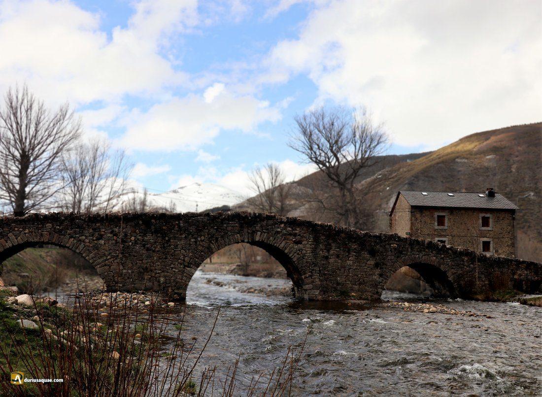 Durius Aquae: puente de Lugeros