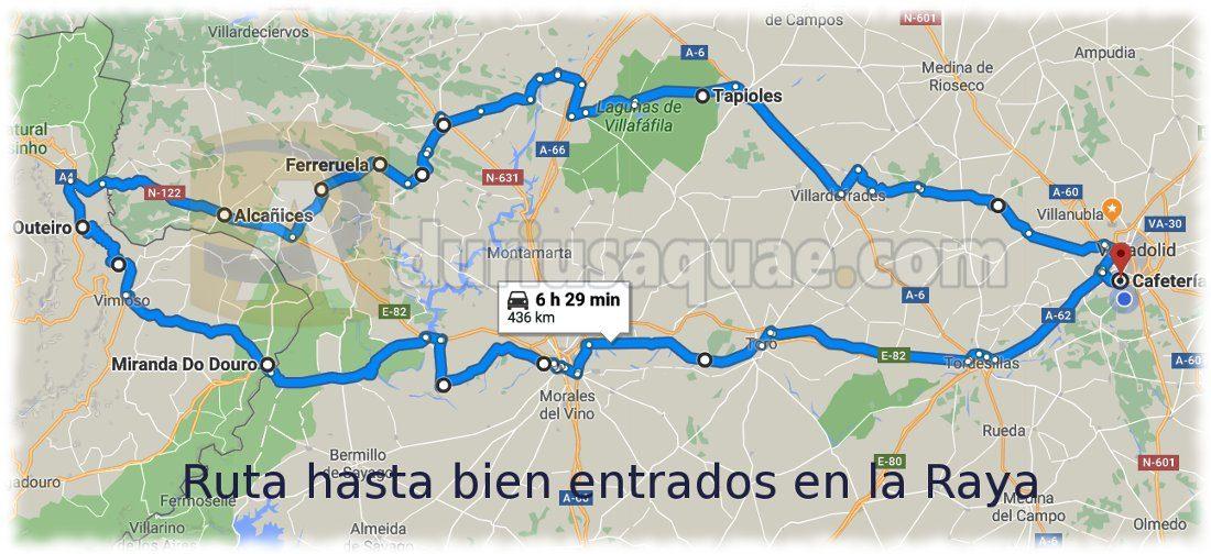 Ruta a la Raya de Portugal