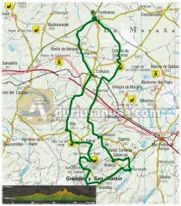 Aquí tenéis la ruta de unos 70 km, y el track en WIKILOC