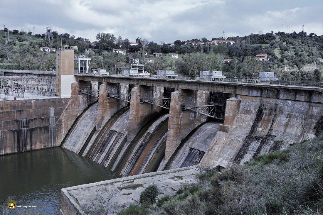 Durius Aquae: Presa de Villalcampo sobre el Duero