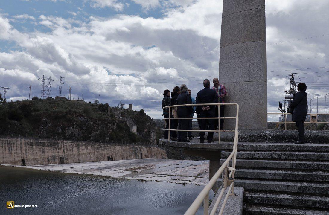 Durius Aquae: Fermín nos explica el diseño del aliviadero de Ricobayo
