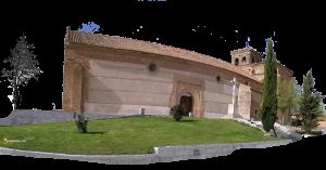 Durius Aquae: San Cipriano, Fontiveros (ha habido que doblarla un poco)