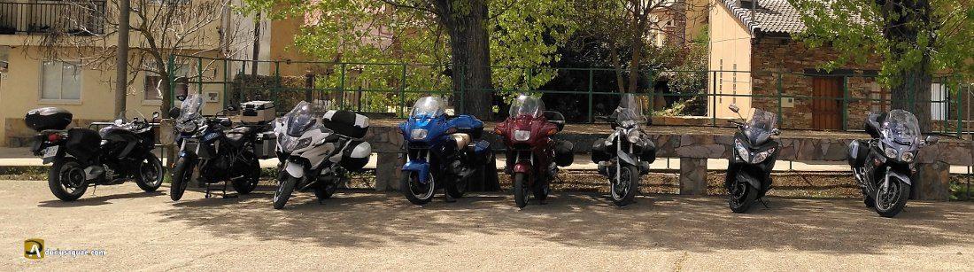 Durius Aquae: motos abandonadas