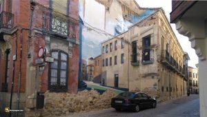 Durius Aquae: Trampantojo callejero en Zamora