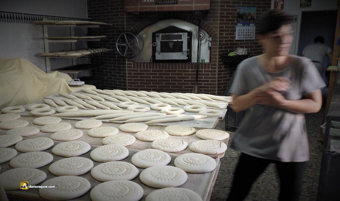 Durius Aquae: la panadería Plaza en plena faena.