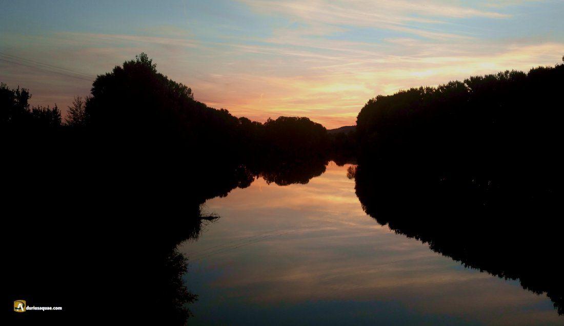 Durius Aquae: Crepúsculo en el Pisuerga