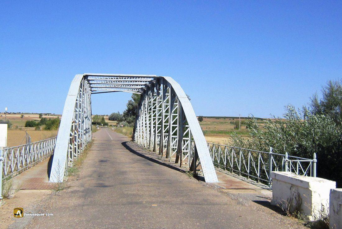 Puente de hierro de Valderas a Villafer