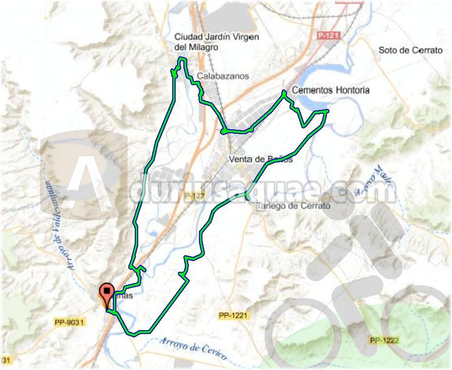 Durius Aquae: Ruta entre Las Dos Aguas, las del Carrión y las del Pisuerga