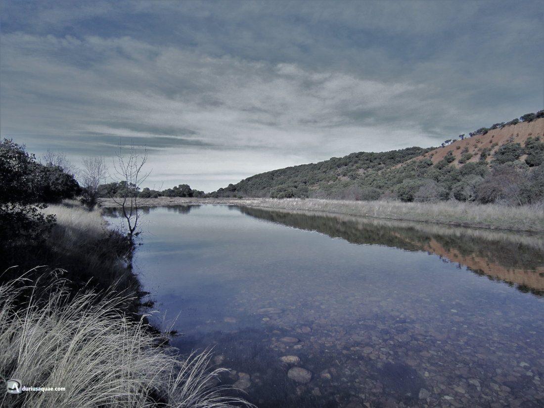 Durius Aquae: Río Yeltes, entre Aldehuela y la Puebla