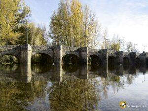 Puente en Salinas de Pisuerga, Palencia