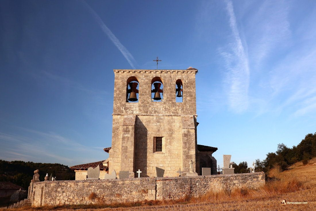 Durius Aquae: Iglesia de San Mamés, en Villatuelda