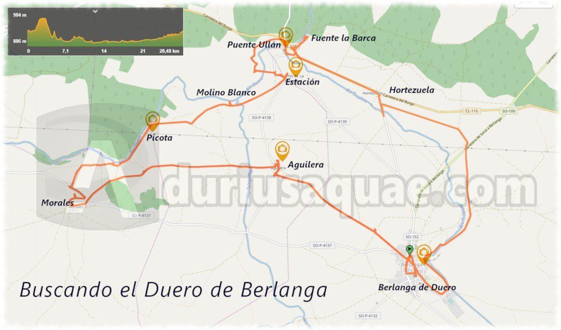 Buscando el Duero en Berlanga