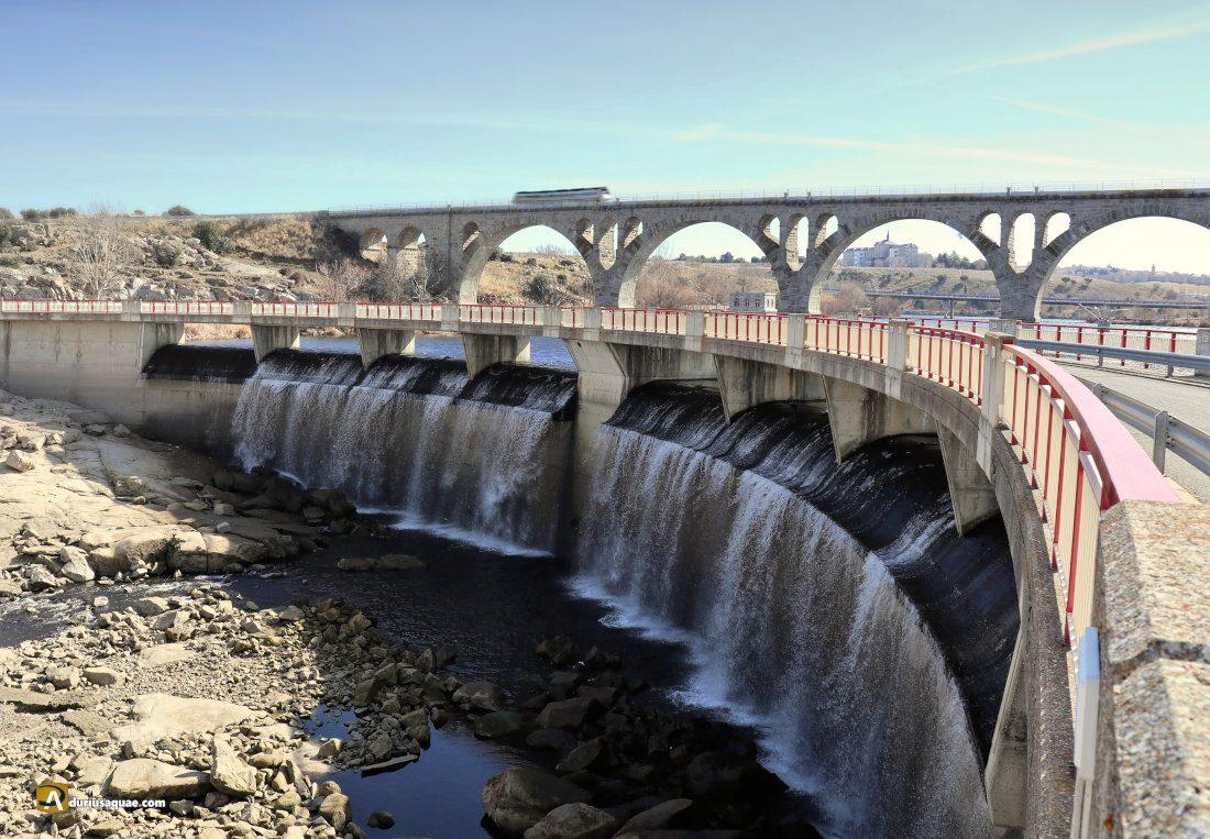 Durius Aquae: La presa de Fuentes Claras y el Puente de Salamanca