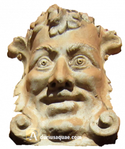 Durius Aquae: figura ornamental de terracota