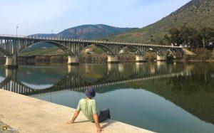 Puente sobre el Douro en Barca d'Alba
