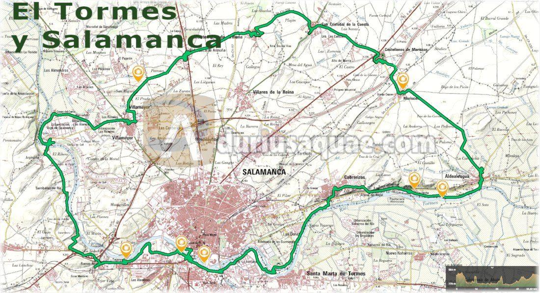 Durius Aquae: ruta Salamanca y el tormes