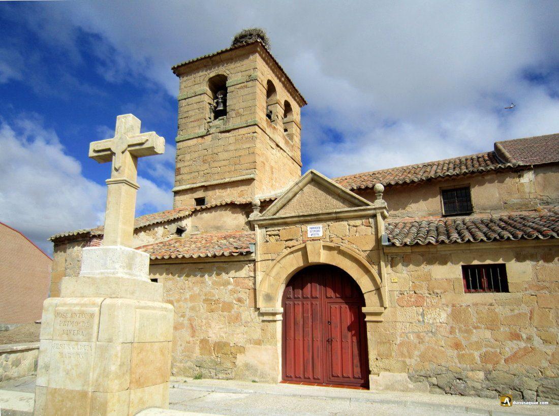 Durius Aquae: Iglesia de San Pedro en Moriscos