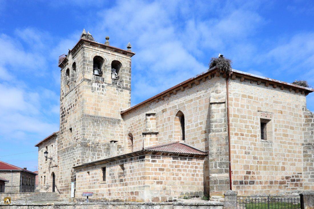 Durius Aquae: San Miguel Arcángel. Duruelo de la Sierra