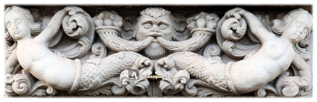 Durius Aquae: dintel en Vinuesa