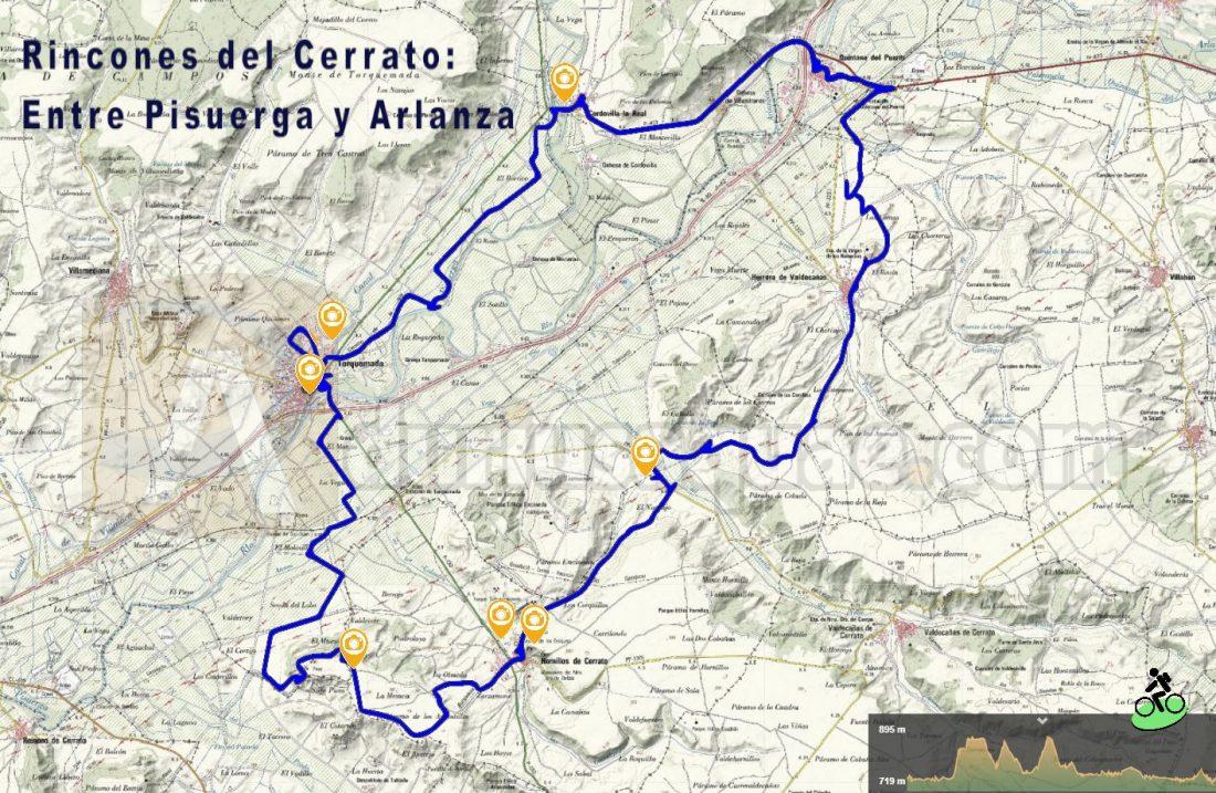 Rincones del Cerrato: Entre Pisuerga y Arlanza