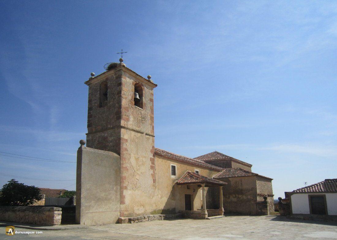 Durius Aquae: Arahuetes, iglesia de San Andrés