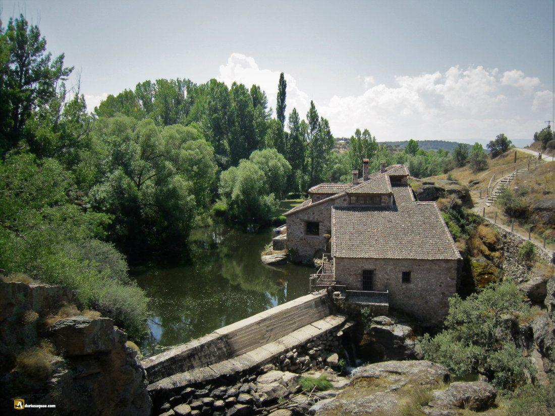Durius Aquae: molino de la Cubeta, La Velilla