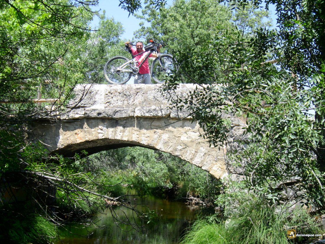 Durius Aquae: puente sobre el Cega Torre Val de San Pedro