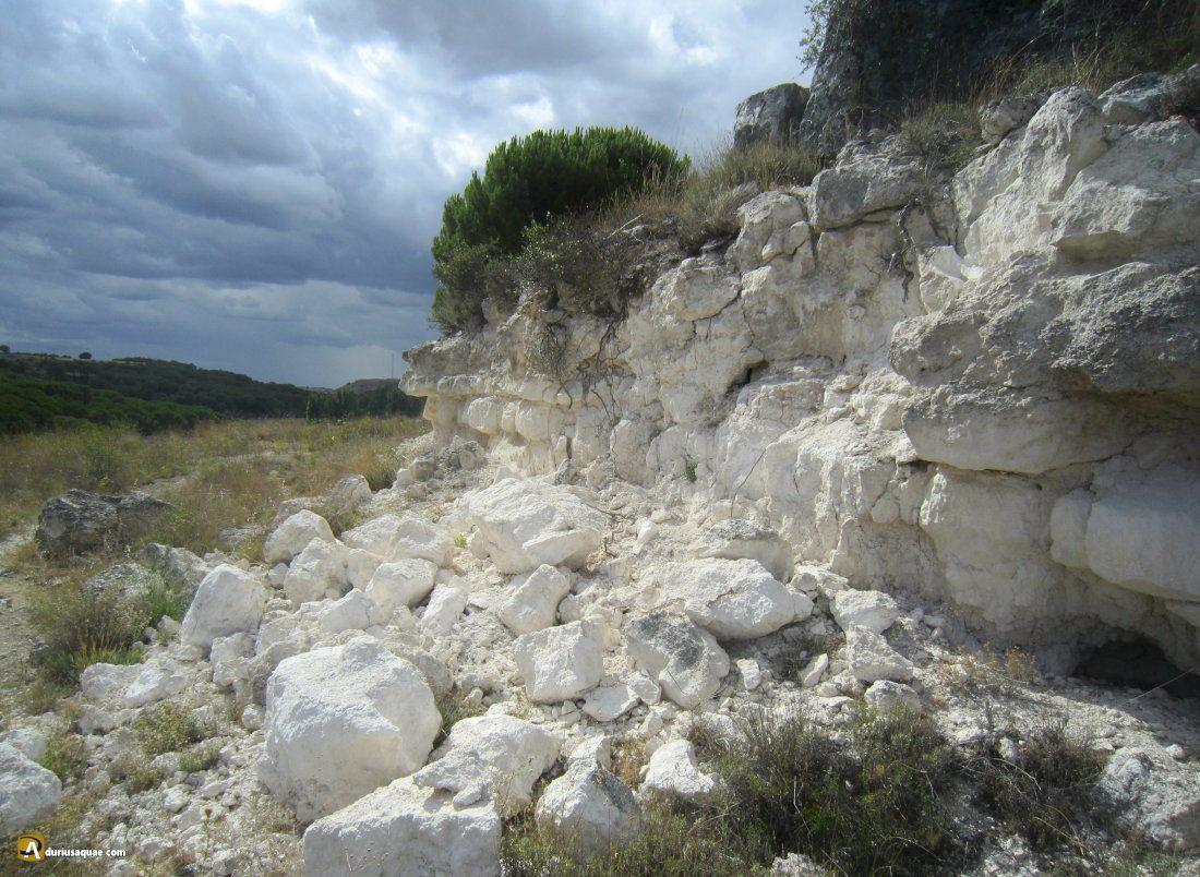 Durius Aquae: minas de yeso en San Miguel del Arroyo