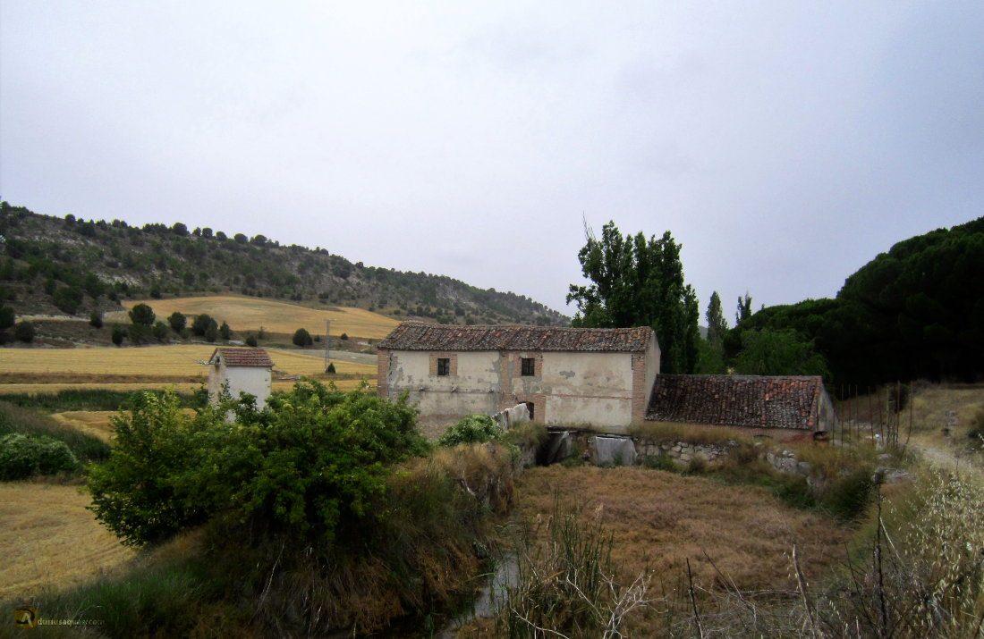 Durius Aquae: Santiago del Arroyo, molino del Valle