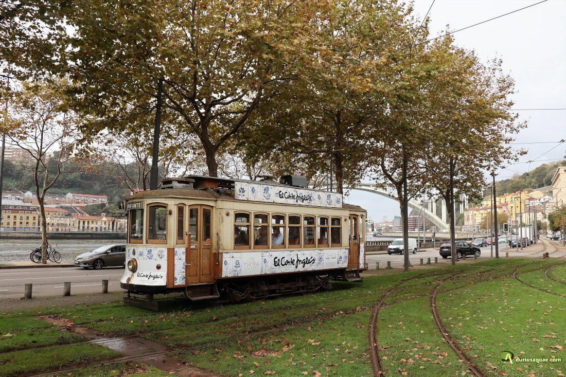 Durius Aquae: tranvía por el estuario de Oporto