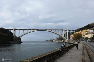 Estuario del Duero, puente de Arrábida