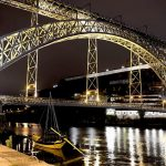 Oporto, puente de Luiz I sobre el Douro