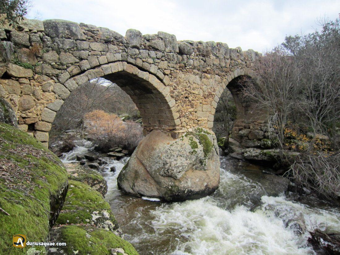 Durius Aqaue: Puente de la fonseca sobre el Corneja